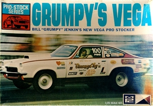 "1972 Chevy Vega Bill Jenkins ""Grumpy's Toy"" + Slixx Decal (1/25) <br><span style=""color: rgb(255, 0, 0);"">Please Read Product Description</span>"