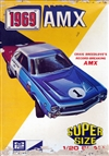 1969 AMC Javelin AMX 'Craig Breedlove' Hardtop ( 4 'n 1) Stock, Custom, Drag or Record-breaking Amx) (1/20) (si) '69 Issue