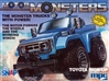 "1985 Toyota Pickup ""Motor Monsters"" Snap with Motor (1/32) (fs)"