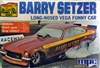 1973 Chevy Vega Barry Setzer Long-Nosed Vega Funny Car (1/25)