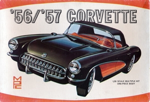 1956/1957 Chevy Corvette Convertible/Coupe (8 'n 1) Stock, Modified, Bonneville Racer,Custom, Road, Rally or Stock Car (1/25) (fs)