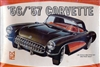 1956/1957 Chevy Corvette Convertible/Coupe (8 'n 1) Stock, Modified, Bonneville Racer,Custom, Road, Rally or Stock Car (1/25)