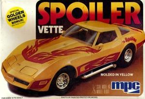 "Bay Auto Parts >> 1980 Corvette Coupe (2 'n 1) Stock or Custom ""Spoiler Vette"" (1/25) (fs)"