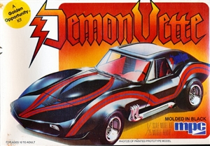 "1982 Corvette Custom Coupe ""Demon Vette"" (Turbo Shark) (1/25) (fs)"