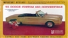 1965 Dodge Custom 880 Convertible (1/25) RARE