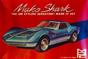1966 Corvette Mako Shark Ii With Trailer 1 25 Fs Mint