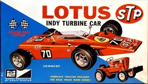 Lotus STP Turbine Indy Car  (1/25) (fs)