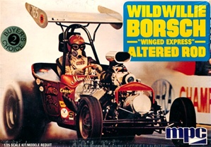 "Wild Willie Borsch ""Winged Express"" Altered Road (1/25) (fs)"