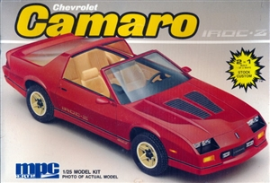 1988 Chevrolet Camaro IROC-Z (2 'n 1) Stock or Custom (1/25) (fs)