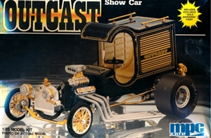 Outcast Show Car (1/25) (fs) Includes Gold Anodizing Paint