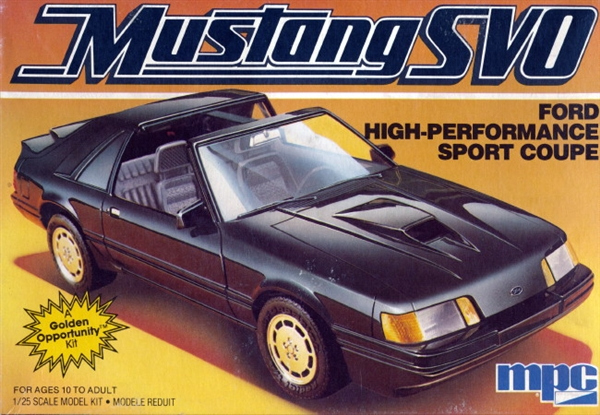 T Top Mustang >> 1986 Ford Mustang Svo Coupe T Top 1 25 Fs