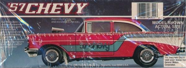 1957 Chevrolet Flip Nose Sedan 1 25 Fs