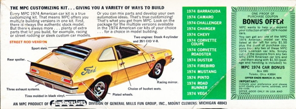 1974 ford pinto 3 n 1 stock street rod or rally 125 original 1974 ford pinto 3 n 1 stock street rod or rally 125 original 1974 annual issue publicscrutiny Images