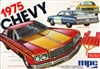 1975 Chevy Caprice 2 Door Hardtop with Trailer (3 'n 1) Stock, Police, Race Car Hauler (1/25) (fs) MINT