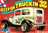 1932 Ford Sedan Delivery Van Street Rod 'Keep on Truckin' ( 2 'n 1) (1/25) (fs) MINT