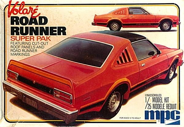 1977 Plymouth Volare Roadrunner 'Super Pack' (1/25)