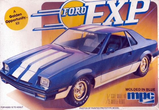 1982 Ford Exp Coupe 1 25 Fs