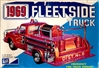 1969 Chevy Fleetside Emergency Fire Truck  (2 'n 1) Stock or Fire Truck (1/25) (fs)