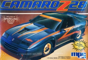 1984 Chevy Camaro Z-28 (2 'n 1) Stock or Custom (1/25) (fs)