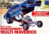 1970 Ford Maverick Ohio George Montgomery's 'Multi-Maverick'  Funny Car (1/25) (fs)