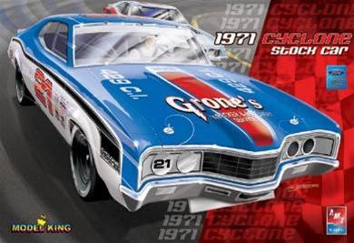 New Chevelle Ss >> 1971 Mercury Cyclone NASCAR (1/25) (fs)