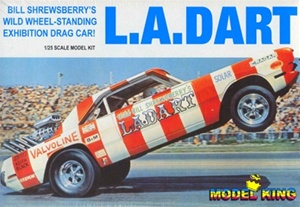 1970 Dodge Dart 'LA Dart' Rear Engine Dragster (1/25) (fs)