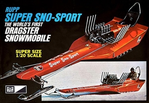 "Super Sno-Sport Dragster (1/20) (fs) <br><span style=""color: rgb(255, 0, 0);"">Opportunity Buy</span>"
