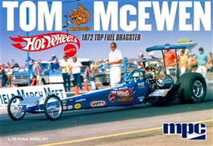 "Tom ""Mongoose"" McEwen ""Hot Wheels"" 1972 Rear Engine Dragster (1/25) (fs)"