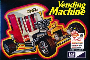 Coca Cola Vending Machine Show Car (1/25) (fs)