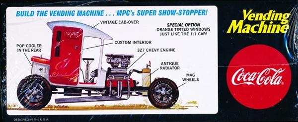 MPC 871 Vending Machine Show Rod New 1:25