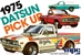 1975 Datsun Pickup (3 'n 1) Stock, Street or Off-Road Racer (1/25) (fs)