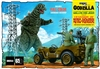 Godzilla Willys MB Army Jeep (2 'n 1) (1/25) (fs)