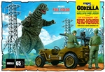 "Godzilla Willys MB Army Jeep (2 'n 1) (1/25) (fs) <br><span style=""color: rgb(255, 0, 0);"">June, 2019</span>"