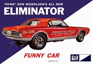 "Dyno Don Cougar Eliminator Funny Car (1/25) (fs)<br><span style=""color: rgb(255, 0, 0);"">Back in Stock</span>"