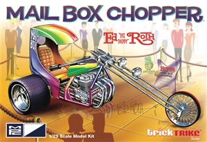 "Ed Roth's Mail Box Chopper ""Trick Trike Series"" (1/25) (fs) <br><span style=""color: rgb(255, 0, 0);""> Late January, 2020</span>"