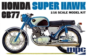 "Honda CB77 Super Hawk Motorcycle (1/16) (fs)  <br><span style=""color: rgb(255, 0, 0);"">Late August</span>"