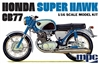 Honda CB77 Super Hawk Motorcycle (1/16) (fs)