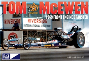 "Tom McEwen Tirend 1969 Front Engine Dragster (1/25) (fs) <br><span style=""color: rgb(255, 0, 0);"">Late January, 2018</span>"
