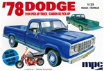 "1978 Dodge D100 Custom Pickup Truck (1/25) (fs) <br><span style=""color: rgb(255, 0, 0);"">July, 2019</span>"