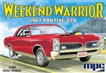 "1967 Pontiac GTO ""Weekend Warrior"" Race Version with Starting Light (1/25) (fs) <br><span style=""color: rgb(255, 0, 0);"">July, 2019</span>"