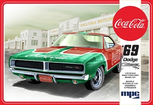 "1969 ""Coca-Cola"" Dodge Charger RT (1/25) (fs) <br><span style=""color: rgb(255, 0, 0);"">September, 2019</span>"