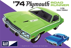 "1974 Plymouth Road Runner (1/25) (fs) <br><span style=""color: rgb(255, 0, 0);"">October,  2019</span>"