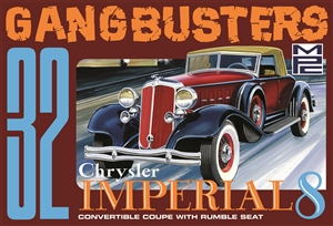 "1932 Chrysler Imperial 8 ""Gangbusters"" (1/25) (fs) <br><span style=""color: rgb(255, 0, 0);"">September, 2020</span>"