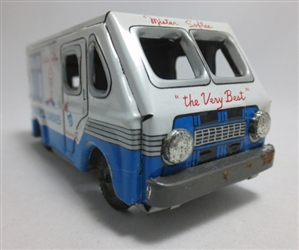 Mister Softee Friction Drive Tin 1960's Ice Cream Truck (1/43)