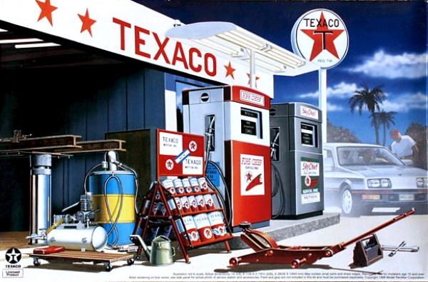 Texaco 1960 S Gas Station 1 24 Fs Just Arrived