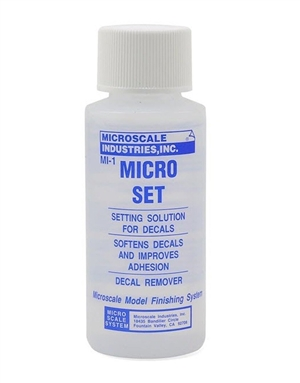 Micro Set Decal Setting Solution from Microscale