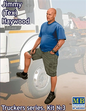 "Jimmy ""Tex"" Haywood Trucker Figure (1/24)"