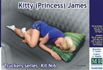 "Kitty ""Princess"" James Trucker Sleeping Passenger Figure (1/24)"
