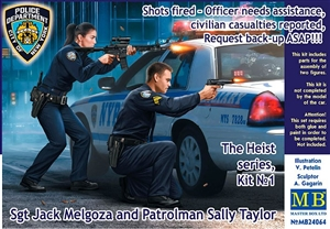 "The Heist: Sgt Jack Melgoza and Patrolman Sally Taylor ""Shots fired!"" (1/24)"