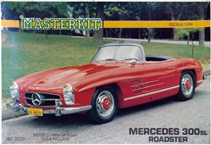 1959 Mercedes-Benz 300SL Roadster (1/24) (fs)